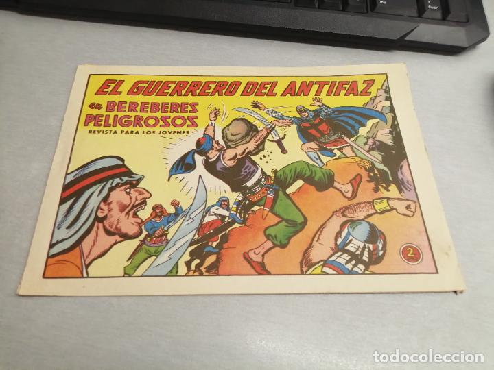 EL GUERRERO DEL ANTIFAZ Nº 595 / VALENCIANA ORIGINAL (Tebeos y Comics - Valenciana - Guerrero del Antifaz)
