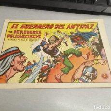Tebeos: EL GUERRERO DEL ANTIFAZ Nº 595 / VALENCIANA ORIGINAL. Lote 277063503