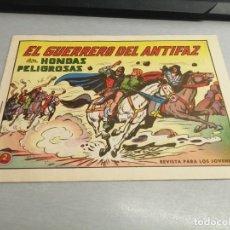 Tebeos: EL GUERRERO DEL ANTIFAZ Nº 598 / VALENCIANA ORIGINAL. Lote 277063558