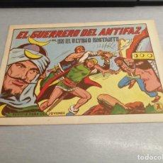 Tebeos: EL GUERRERO DEL ANTIFAZ Nº 599 / VALENCIANA ORIGINAL. Lote 277063638