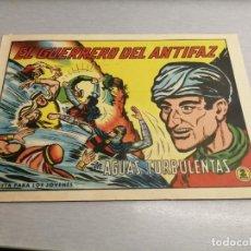 Tebeos: EL GUERRERO DEL ANTIFAZ Nº 604 / VALENCIANA ORIGINAL. Lote 277069723