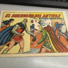 Tebeos: EL GUERRERO DEL ANTIFAZ Nº 605 / VALENCIANA ORIGINAL. Lote 277069758
