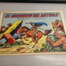 Tebeos: EL GUERRERO DEL ANTIFAZ Nº 608 / VALENCIANA ORIGINAL. Lote 277069843