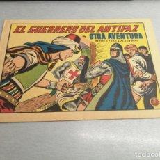 BDs: EL GUERRERO DEL ANTIFAZ Nº 640 / VALENCIANA ORIGINAL. Lote 277071298
