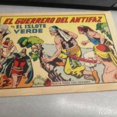 BDs: EL GUERRERO DEL ANTIFAZ Nº 641 / VALENCIANA ORIGINAL. Lote 277071323