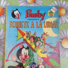 Tebeos: PUMBY LIBRO ILUSTRADO N.8 COHETE A LA LUNA BUEN ESTADO EN GENERAL. Lote 277083233