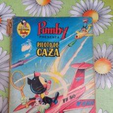 Tebeos: PUMBY LIBRO ILUSTRADO N.43 PILOTO DE CAZA. Lote 277085088