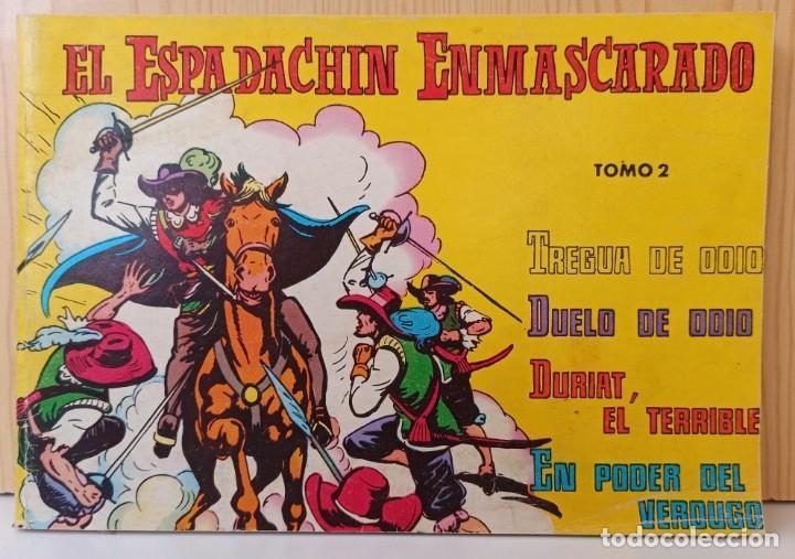 EL ESPADACHIN ENMASCARADO - RETAPADO NUM. 2 - VALENCIANA (Tebeos y Comics - Valenciana - Espadachín Enmascarado)