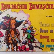 Tebeos: EL ESPADACHIN ENMASCARADO - RETAPADO NUM. 2 - VALENCIANA. Lote 277090233