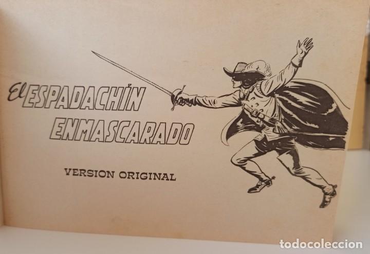 Tebeos: EL ESPADACHIN ENMASCARADO - RETAPADO NUM. 2 - VALENCIANA - Foto 5 - 277090233