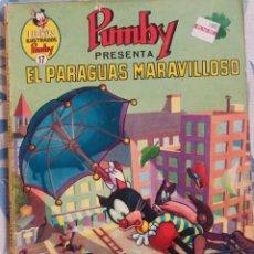 """Tebeos: TEBEO PUMBY Nº 17 """"EL PARAGUAS MARAVILLOSO"""". Lote 277191358"""