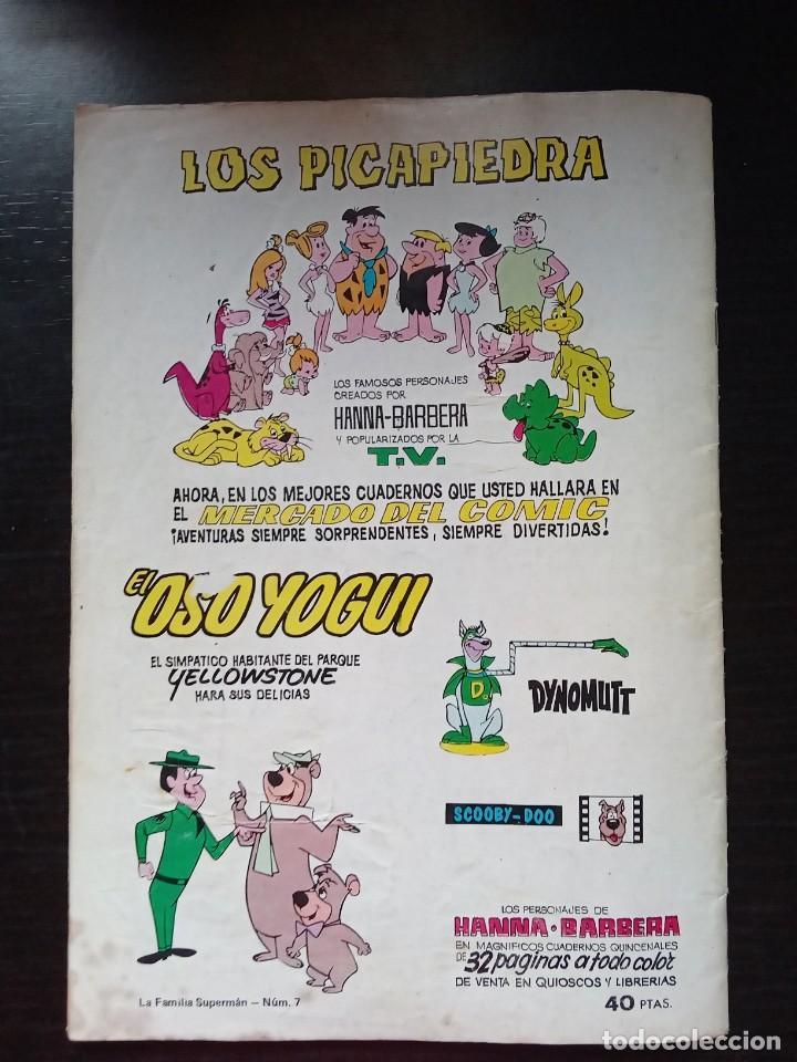 Tebeos: La Familia Superman Colosos del Comic Editorial Valenciana Num 7 - Foto 7 - 277434648