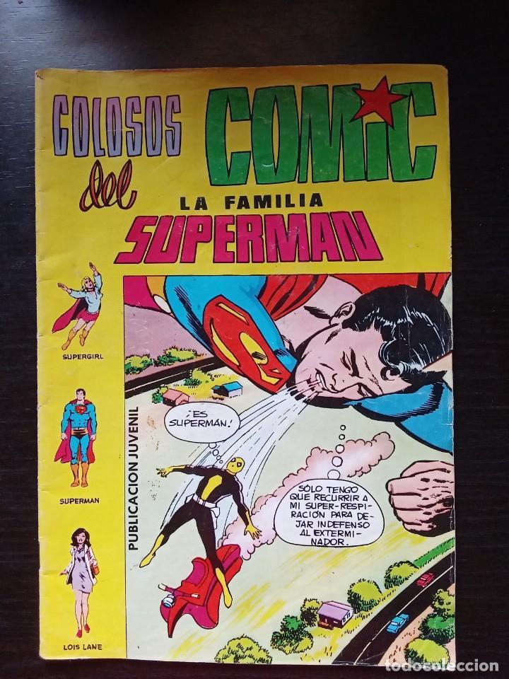 LA FAMILIA SUPERMAN COLOSOS DEL COMIC EDITORIAL VALENCIANA NUM 7 (Tebeos y Comics - Valenciana - Colosos del Comic)