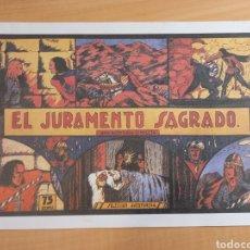 Tebeos: EL JURAMENTO SAGRADO - LA CONQUISTA DE GRANADA (EDITORIAL VALENCIANA) REEDICION. Lote 277588128