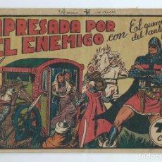 Tebeos: EL GUERRERO DEL ANTIFAZ Nº 199 . ORIGINAL VALENCIANA 75 CTS. DE ENCUADERNACION. Lote 277694968