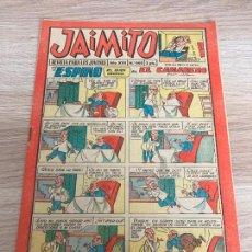 Tebeos: JAIMITO Nº 660. ORIGINAL. EDITORIAL VALENCIANA 1962. Lote 277698728