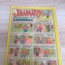 Tebeos: JAIMITO Nº 673. ORIGINAL. EDITORIAL VALENCIANA 1962. Lote 277698793