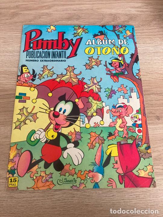 EXTRA PUMBY ALBUM DE OTOÑO 1971. VALENCIANA 1971 (Tebeos y Comics - Valenciana - Pumby)