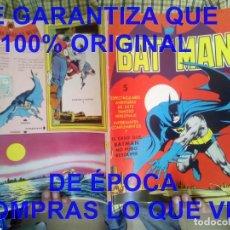 Tebeos: BATMAN 5 ESPECTACULARES AVENTURAS VALENCIANA 1976 U56. Lote 278402418