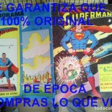 Tebeos: SUPERMAN LAS 6 MEJORES AVENTURAS VALENCIANA 1975 U56. Lote 278402943