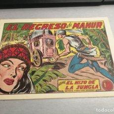 Tebeos: EL HIJO DE LA JUNGLA Nº 11 / VALENCIANA ORIGINAL. Lote 278874983