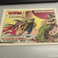 BDs: EL HIJO DE LA JUNGLA Nº 49 - ALMANAQUE 1958 / VALENCIANA ORIGINAL. Lote 278876698