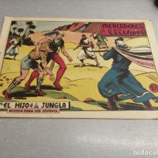Tebeos: EL HIJO DE LA JUNGLA Nº 62 / VALENCIANA ORIGINAL. Lote 278881388