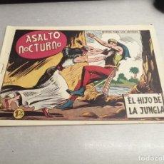 Tebeos: EL HIJO DE LA JUNGLA Nº 66 / VALENCIANA ORIGINAL. Lote 278881693