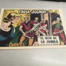 Tebeos: EL HIJO DE LA JUNGLA Nº 71 / VALENCIANA ORIGINAL. Lote 278882288