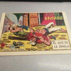 Tebeos: EL HIJO DE LA JUNGLA Nº 74 / VALENCIANA ORIGINAL. Lote 278882658