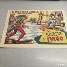 Tebeos: EL HIJO DE LA JUNGLA Nº 77 / VALENCIANA ORIGINAL. Lote 278882893