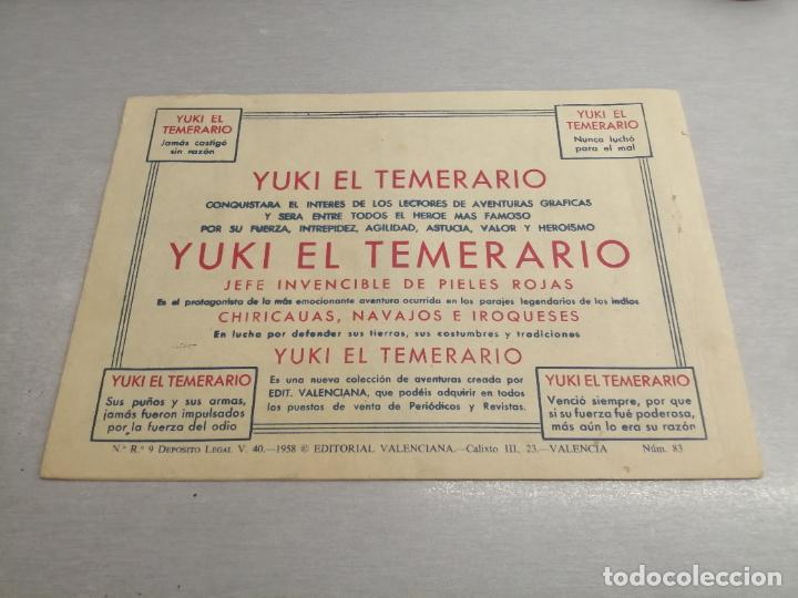 Tebeos: EL HIJO DE LA JUNGLA Nº 83 / VALENCIANA ORIGINAL - Foto 2 - 278883568