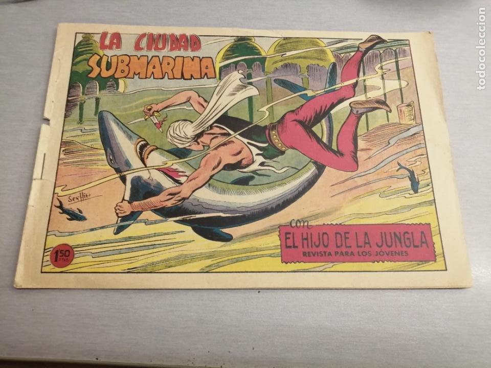 EL HIJO DE LA JUNGLA Nº 80 / VALENCIANA ORIGINAL (Tebeos y Comics - Valenciana - Hijo de la Jungla)