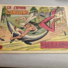 Tebeos: EL HIJO DE LA JUNGLA Nº 80 / VALENCIANA ORIGINAL. Lote 278885533