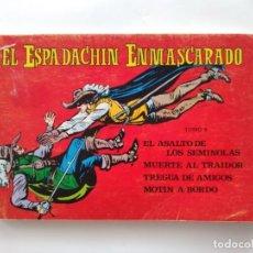Tebeos: EL ESPADACHIN ENMASCARADO TOMO 9 EDI. VALENCIANA 1982 VERSION ORIGINAL ANTIGUO COMIC RV. Lote 279360023