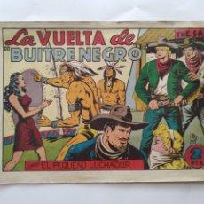 Tebeos: LA VUELTA DEL BUITRE NEGRO CON EL PEQUEÑO LUCHADOR EDI. VALENCIANA ORIGINAL RV. Lote 279360488