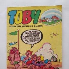 Tebeos: TOBY NUM. 19 FELICES VACACIONES VALENCIANA 1984 RV. Lote 279365438