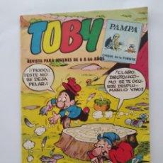 Tebeos: TOBY NUM. 13 PAMPA LOS INDIOS CHILENOS VALENCIANA 1983 RV. Lote 279366313