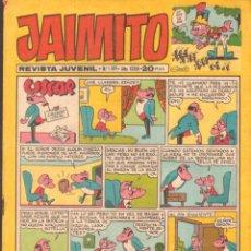 Tebeos: JAIMITO. REVISTA JUVENIL. AÑO XXXIII. Nº1489. A-COMIC-6301. Lote 279461538