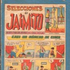 Tebeos: SELECCIONES DE JAIMITO. PUBLICACION JUVENIL. AÑO V. Nº54. A-COMIC-6303. Lote 279461688