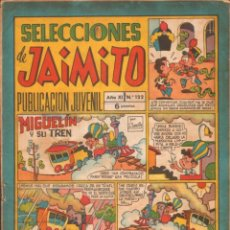 Tebeos: SELECCIONES DE JAIMITO. PUBLICACION JUVENIL. AÑO XI. Nº122. A-COMIC-6304. Lote 279461768