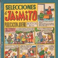 Tebeos: SELECCIONES DE JAIMITO. PUBLICACION JUVENIL. AÑO XI. Nº124. A-COMIC-6305. Lote 279461823