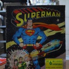 Tebeos: SUPERMAN LAS 6 MEJORES AVENTURAS. Lote 280475168