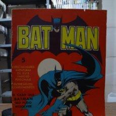 Tebeos: BATMAN 5 ESPECTACULARES AVENTURAS. Lote 280475188