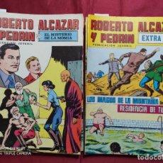 Tebeos: LOTE 31 TEBEOS DE ROBERTO ALCAZAR Y PEDRIN. 22 EJEMPLARES DE ROBERTO ALCAZAR + 9 EXTRA. Lote 280563818