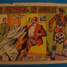 BDs: COMIC EL FANTASMA DE SIR DOUGLAS CON ROBERTO ALCAZAR Y ... AÑO 1958 EDITORIAL VALENCIANA LOTE 10 G. Lote 280568928