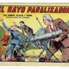 Tebeos: ROBERTO ALCAZAR Y PEDRIN Nº 527 - EL RAYO PARALIZADOR - VALENCIANA 1962 - ORIGINAL. Lote 282271978