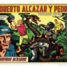 Tebeos: ROBERTO ALCAZAR Y PEDRIN Nº 782 - EL HOMBRE ACOSADO - VALENCIANA 1967 - ORIGINAL. Lote 282272798