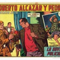Tebeos: ROBERTO ALCAZAR Y PEDRIN Nº 784 - LA NOVELA POLICIACA - VALENCIANA 1967 - ORIGINAL. Lote 282272848