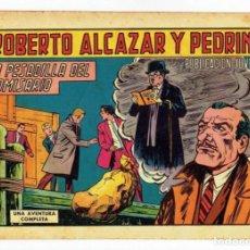 Tebeos: ROBERTO ALCAZAR Y PEDRIN Nº 801 - LA PESADILLA DEL COMISARIO - VALENCIANA 1968 - ORIGINAL. Lote 282273108